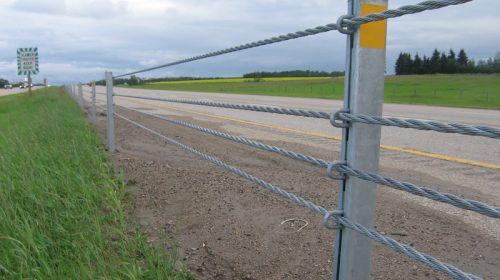 Gibraltar Global TL-4 Four Cable Highway Barrier